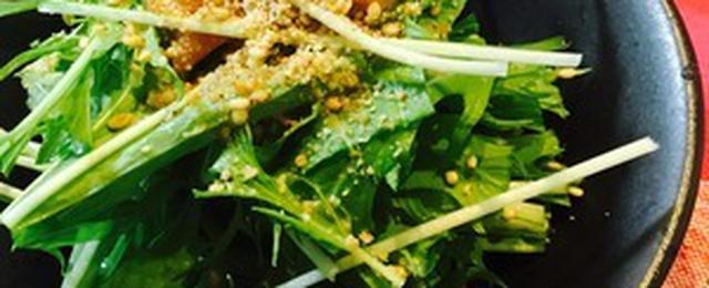 副菜にぴったり!15分以内でできる水菜の和え物レシピ