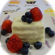 ホワイトチョコのberry*berryミルフィーユ