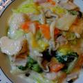 ホワイトソースを作らずに☆白菜と鶏むね肉のクリーム煮♪