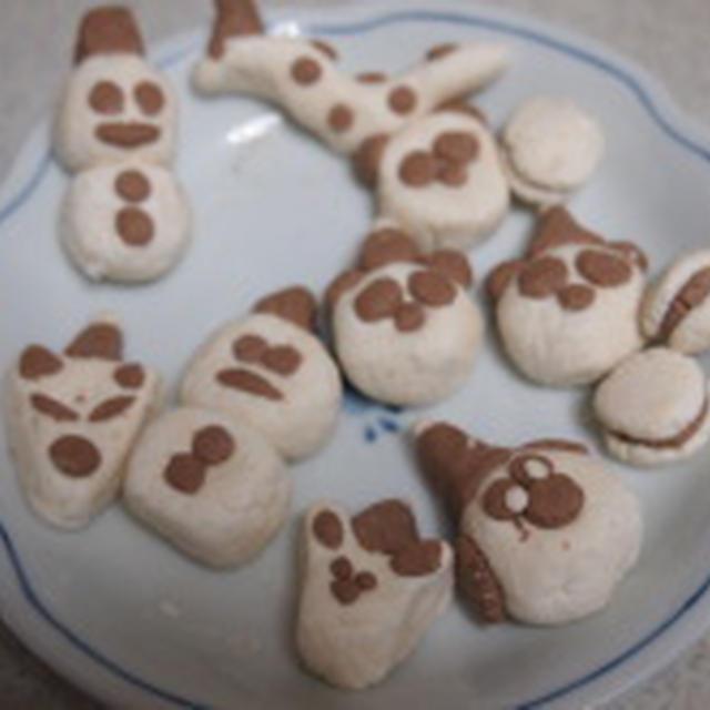 12/1 ☆白玉で動物クリスマス☆