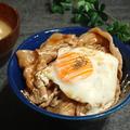 甘辛豚玉マヨネーズ丼の献立