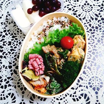 水曜お弁当と簡単お弁当おかずレシピ