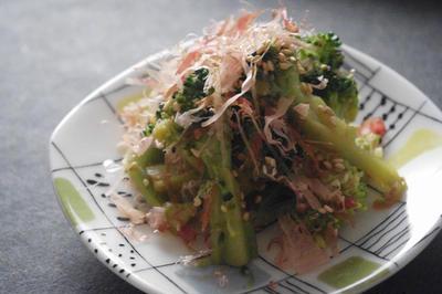 ブロッコリーのおかかサラダレシピ