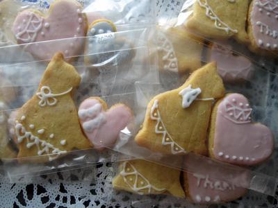 アイシングに。甘さ控えめアーモンドクッキー