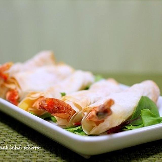 海老とポテトのチーズ風味春巻き&「ちょっと細かいことで悩んでます」&コメントのお返事です~