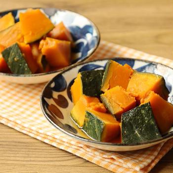 究極の作り置きレシピ!冷凍するからこそ美味しいかぼちゃの煮物の簡単作り方。