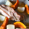 オーブンで塩豚(豚の旨味と岩塩だけで十分な美味しさ)