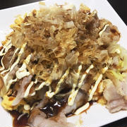 ちゃちゃっと作れるおつまみ★豚玉キャベツ炒め
