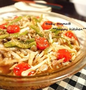 レンジでメイン料理♪もやしと豚肉の中華風ヘルシー旨味蒸し. レシピ