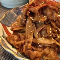 おいしくて楽しい ♪ お弁当レシピ② 「カレー風味のすき煮」。