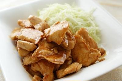 ふっくら&やわらか♫ 鶏むね肉の照り焼き