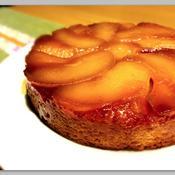 ジンジャー香る  タルトタタン風ケーキ