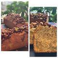カリカリ食感が美味しい!!スリムバウンド型でナッツのキャラメルゼのせ紅茶バウンドケーキ