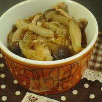 トマトカレー風味スープ