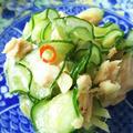 きのうのおつまみ  きゅうりとツナの辛味和え by endocoさん
