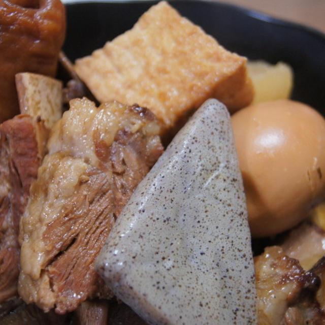 豚スペアリブで関東煮(かんとだき)もええよ~