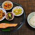 焼鮭が食べたいねん(笑)~牛肉と蓮根の甘辛炒り煮~