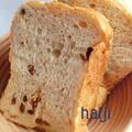 ラムレーズンと干しいちじくのパン