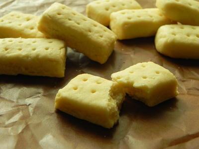 ショートブレッド 2種類の小麦粉を食べ比べ