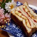 簡単朝ごはん!エルビス・プレスリーが愛した?!ピーナッツバター&バナナのホットサンド