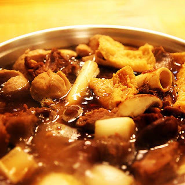 羊肉爐│台湾風羊肉スープ