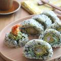 えびフライとアボカドのうず潮巻き寿司 by kaana57さん