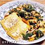 ★サーモンとほうれん草の豆腐ステーキ★