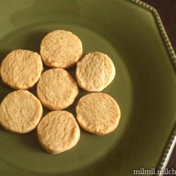 菜種油でクッキー