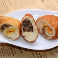 すき屋の牛丼の具deピロシキ(モニターレシピ)