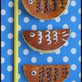 子どもの日に♪白玉入りホットケーキミックスで鯉のぼりの若鮎