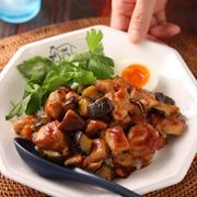 台湾風!鶏肉となすのルーロー飯【#作り置き #冷凍保存 #お弁当 #鶏むね肉でも #夏休み #ランチ #主食】