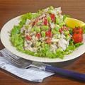 枝豆とパプリカの胡麻だれ和え 染みうま 蒸し鶏サラダ by KOICHIさん