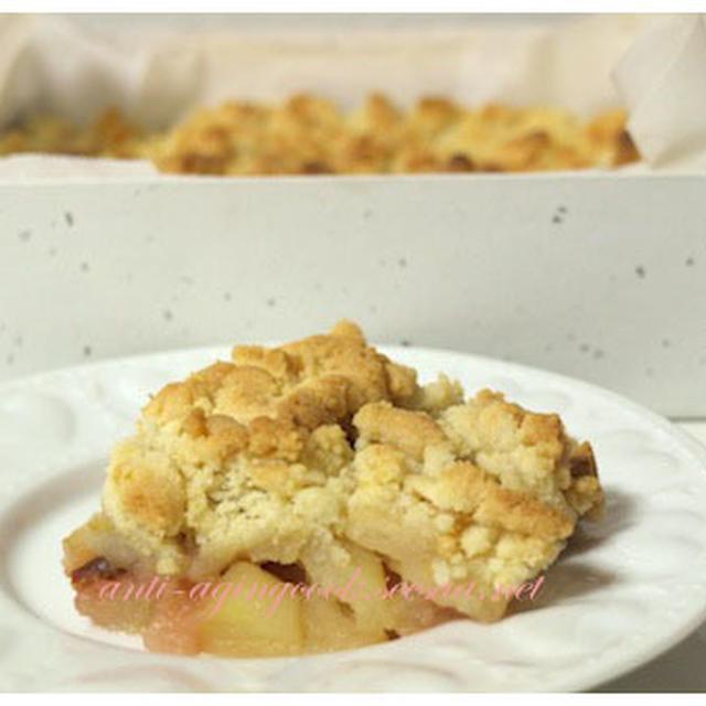 りんごのシナモンガレットを焼いてみました。
