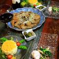 ◆ミモザサラダと手羽先の黒酢煮♪