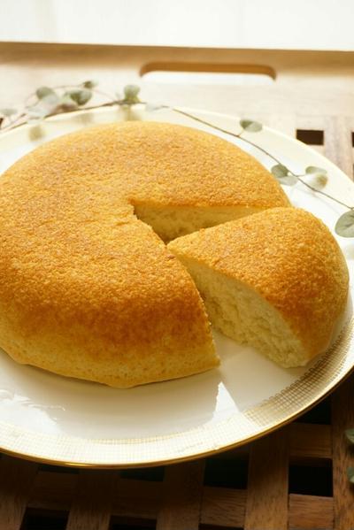 *フライパンもOK!おからの炊飯器ケーキ*