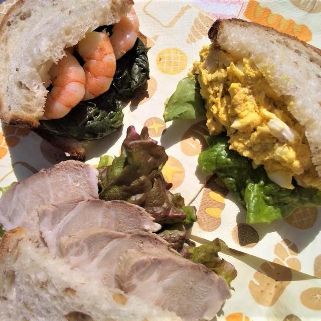 3種類のサンドイッチでピクニックの楽しみを倍増!
