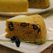 黒豆リメイク!ホットケーキ×炊飯器で 黒豆 きなこケーキ ☆