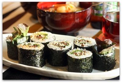 韓国風牛肉のり巻き&梅しそ牛のり巻き