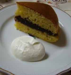 ホットケーキミックスで、炊飯器ケーキ!「シベリア」作る。