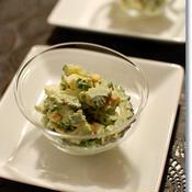 ゴーヤとゆで卵のサラダ