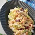 生の白菜モリモリ♪和えるだけで簡単白菜とツナ明太子のサラダ♪