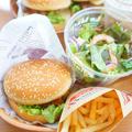 【モニター】カフェで外食気分♪だしまろ酢でハンバーガーランチ by アップルミントさん