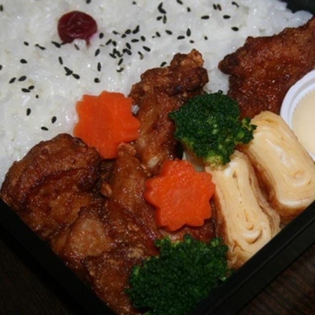 11月23日  鶏唐弁当(市川オープン)