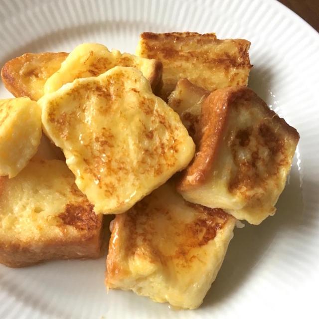 ポリ袋をモミモミ「フレンチトースト」の手抜きレシピ