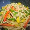 もやしと彩り野菜のスパイス炒め