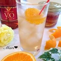 「ジャーと果物で作るお酒&ドリンク」Orange! Arrange♩自家製フルブラで大人ドリンク
