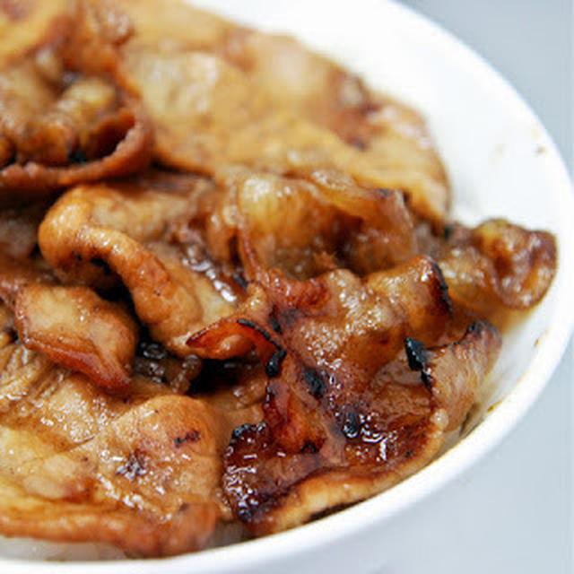燒肉飯│中華豚丼