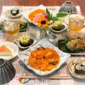 【献立】本格えびチリと手抜き中華サラダで夜ごはん
