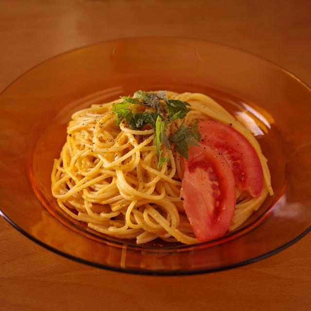 トマトまるごと超簡単&時短マスカルポーネの冷製パスタ