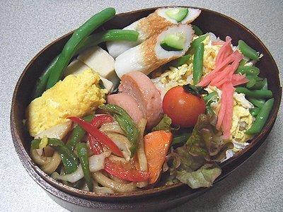 冷凍していた散らし寿司弁当。